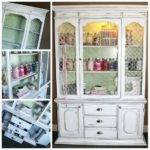 China Cabinet Upcycle Craft Storage Ideas
