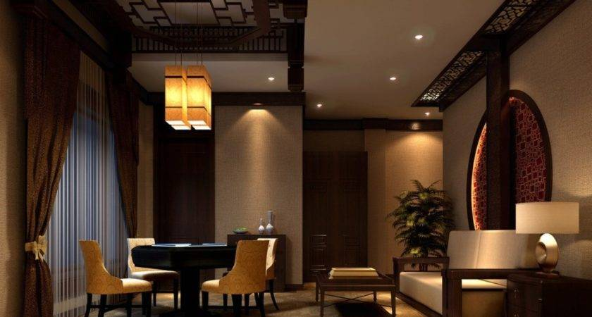 Chinese Classical Interior Design Lounge House
