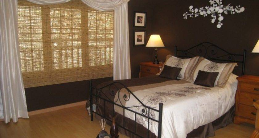 Chocolate Brown Master Bedroom Contemporary Other