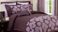 Chocolate Brown Purple Bedroom Ideas