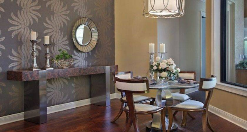 Choosing Ideal Accent Wall Color Your Dining Room