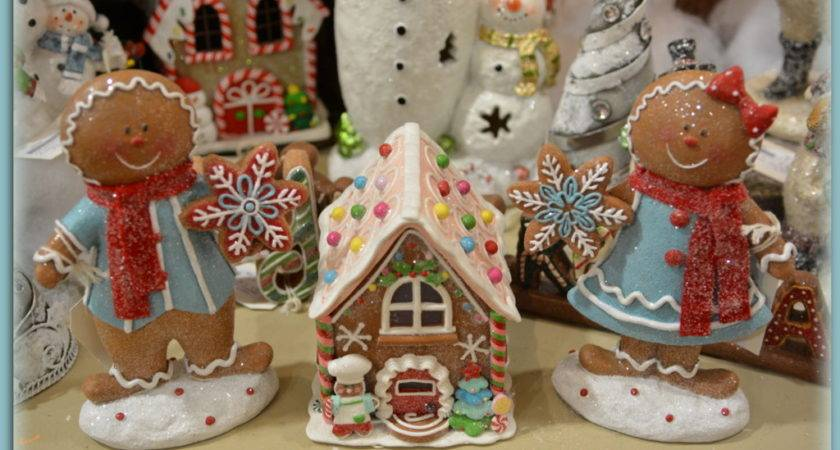 Christmas Candy Gingerbread Bakery Light Shelley