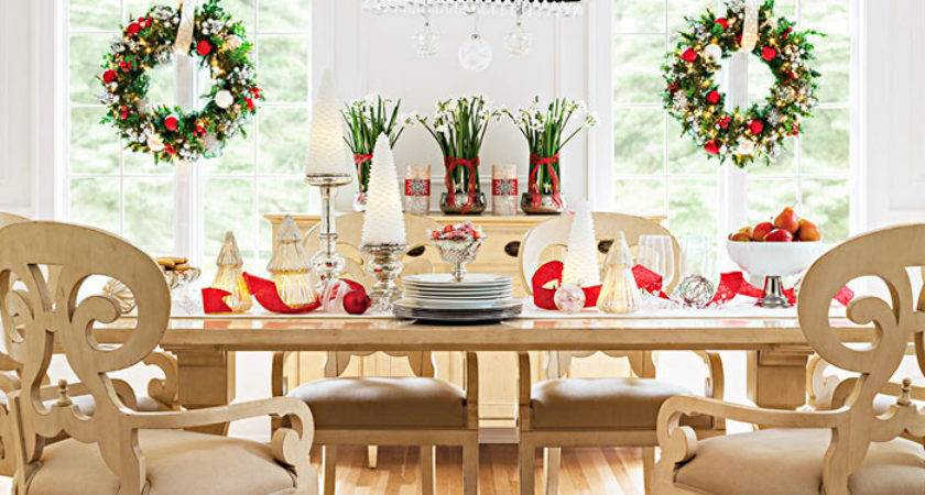 Christmas Decor Dining Rooms