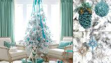 Christmas Decoration Ideas White Trees