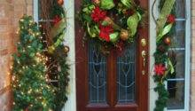 Christmas Decorations Your Front Door