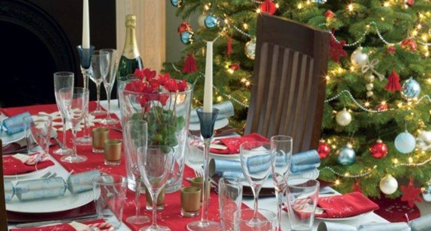 Christmas Dining Room Housetohome