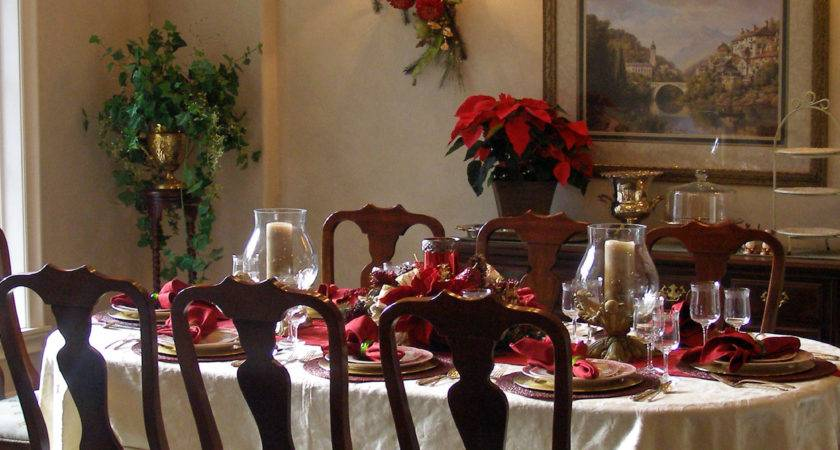 Christmas Dining Room Table Centerpieces Home Design Ideas
