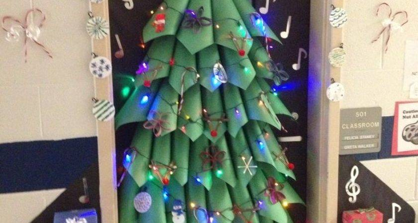 Christmas Door Decorating Ideas Xerxes