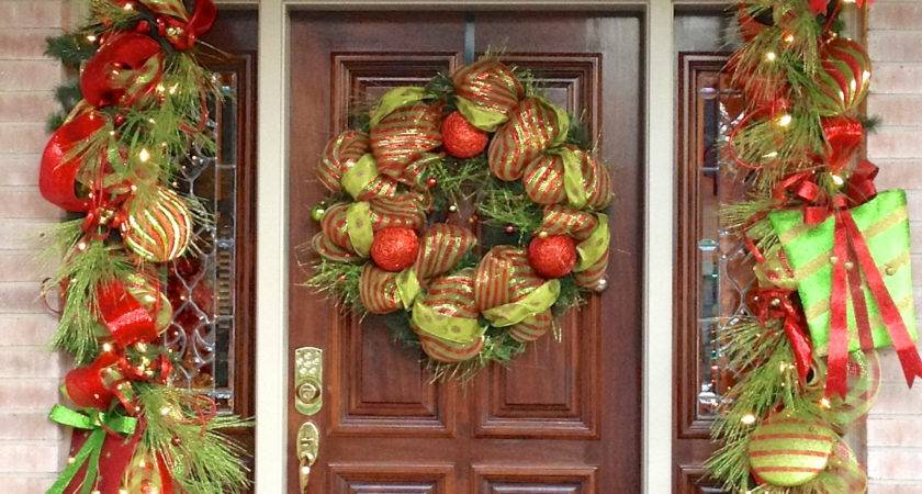 Christmas Door Decorations Ideas Year