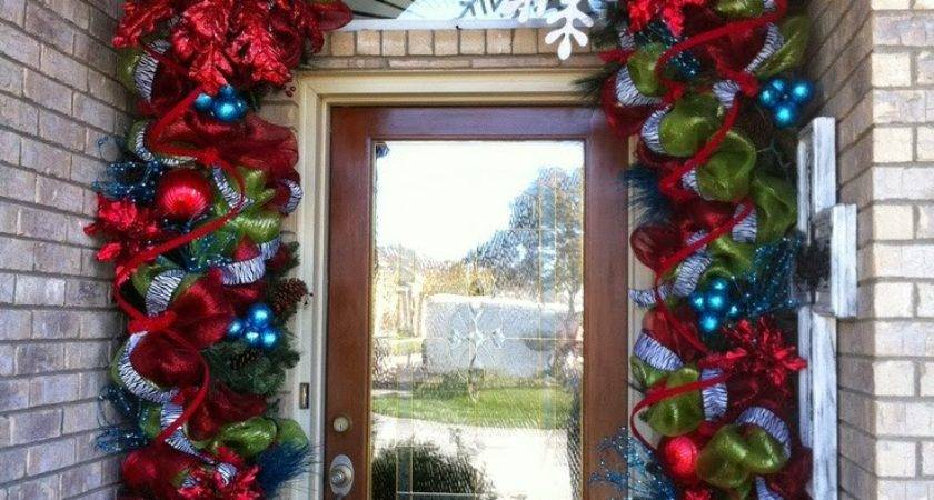 Christmas Ideas Front Door Porch
