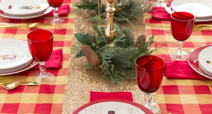 Christmas Table Ideas Nutcracker Tablescape