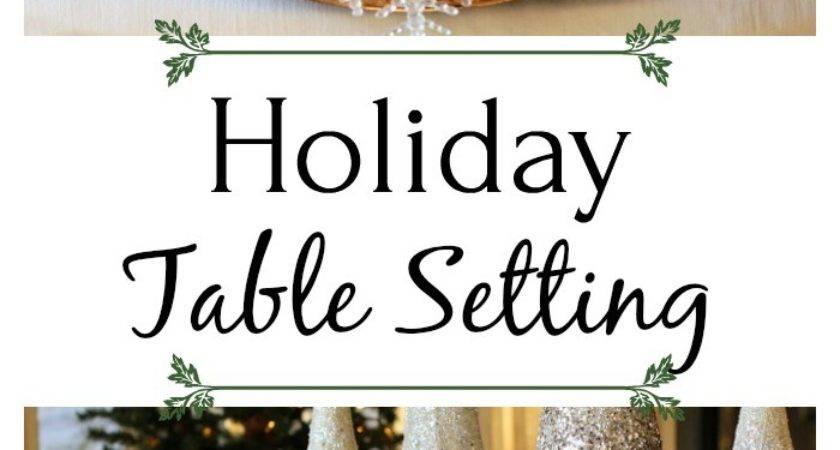 Christmas Table Setting Ideas Town Country Living