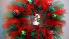 Christmas Tulle Wreath Glitter Add
