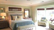 Classic Casual Home Soft Green Blue Master Bedroom