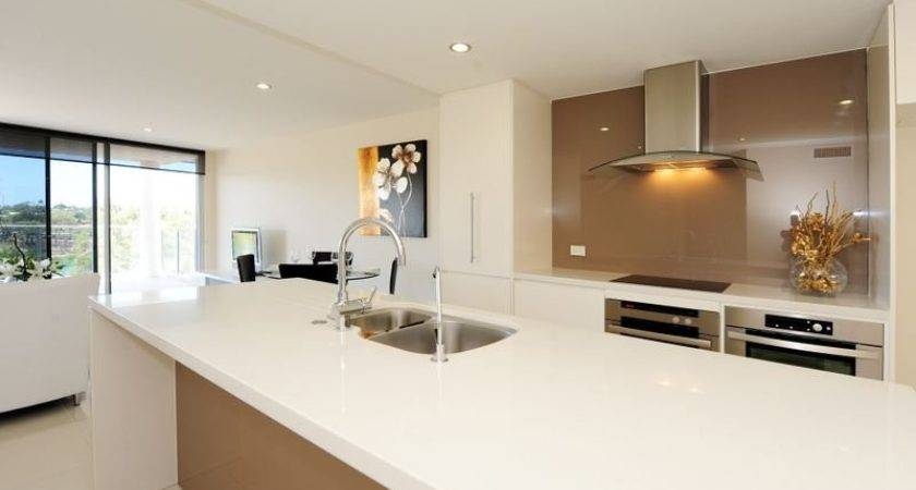 Classic Galley Kitchen Design Using Stainless Steel