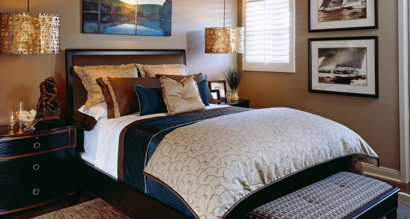 Classic Sophisticated Bedroom Before After San Diego