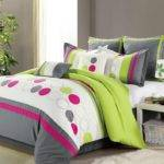Clearance Luxury Bedding Set Lydia Lime Green