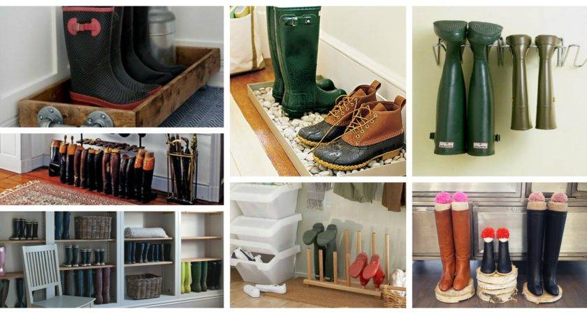 Clever Boots Storage Ideas Save Your