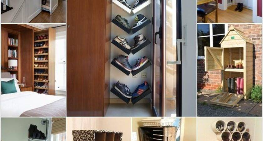 Clever Narrow Vertical Shoe Storage Ideas