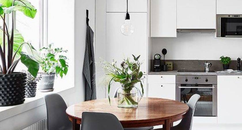 Clever Solution Dining Table Every Small Space