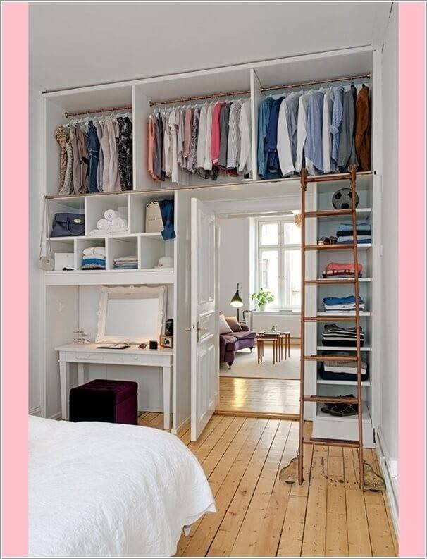 Clever Storage Ideas Small Bedroom Homes Decor