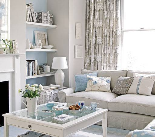 Grey Blue And White Living Room 23 Photo Gallery Homes Decor