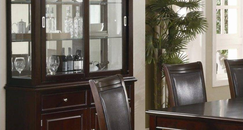 Coaster Ramona Formal Dining Room China Cabinet Walnut