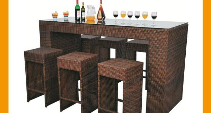 Coffee Rattan Bar Furniture Chair Table Buy