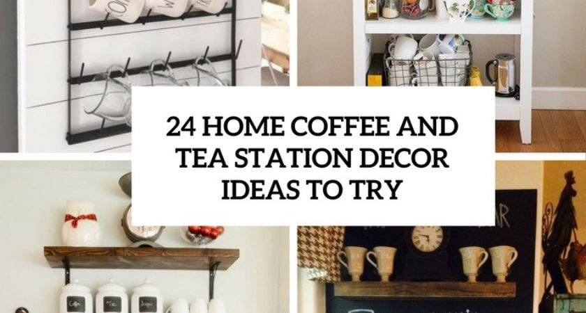 Coffee Station Decor Home Decorating Ideas