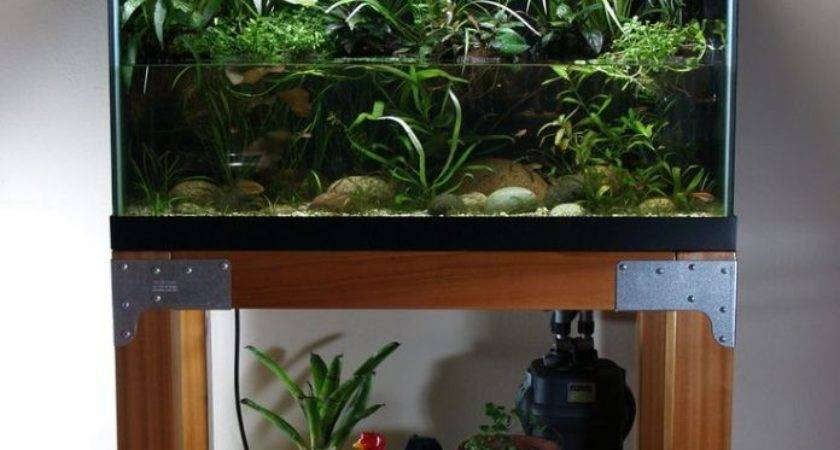 Coffee Tables Gallon Aquarium Stand Fish Tank Dining