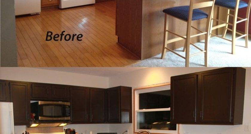 Collection Kitchen Wall Colors Dark Brown Cabinets