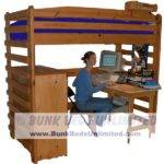 College Loft Bed Plans Bunk Beds Unlimited