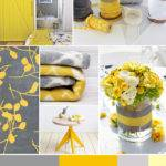 Color Combinations Gray Yellow Ideas Interior