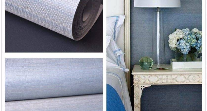 Color Curtains Blue Walls Brown Furniture