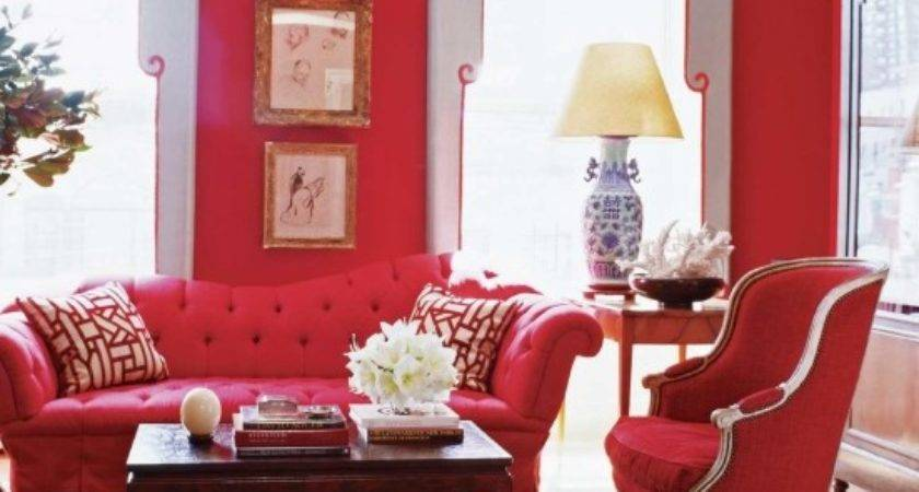 Color Decorating Ideas Living Rooms Red House