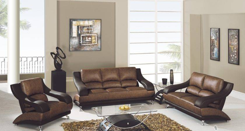 Color Living Room Brown Furniture Best Paint