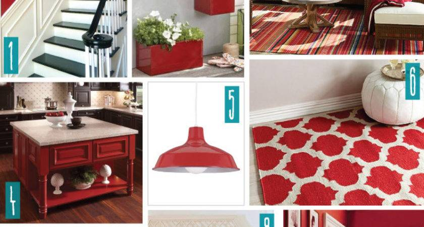 Color Series Decorating Red