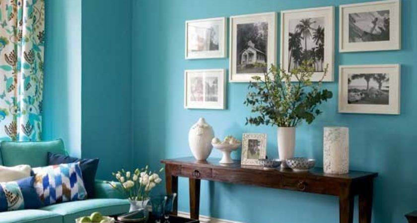 Colored Walls Inspired Room