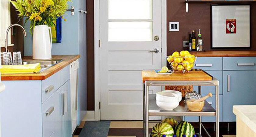 Colorful Kitchen Small Space Ideas