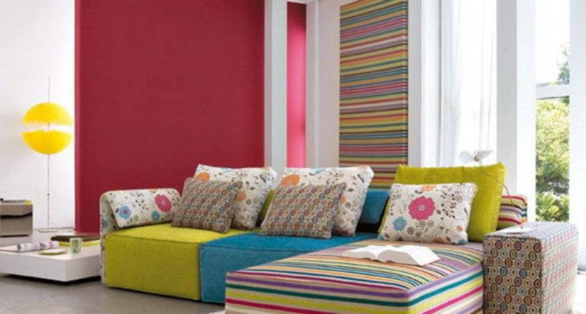 Colorful Living Room Decorating Ideas Home Interior