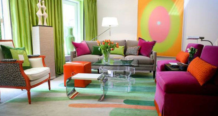 Colorful Living Room Designs Dynamic Look Home