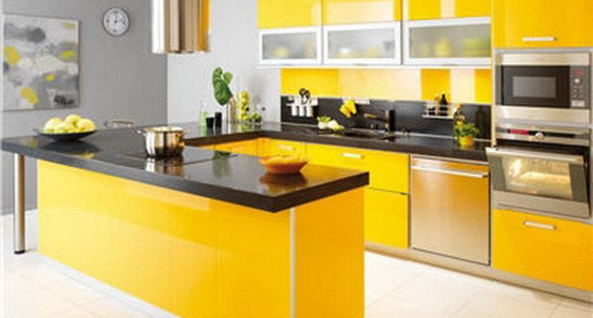Colorful Modern Kitchens Ideas Home Inspiring