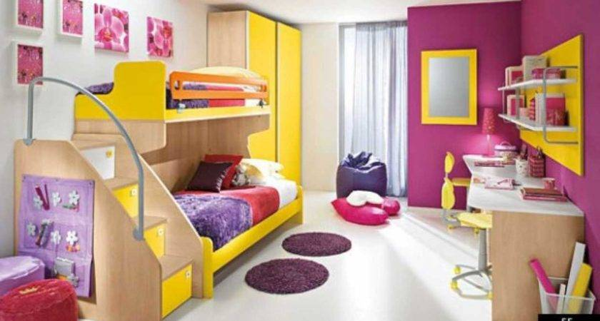 Colorful Room Ideas Your Children Interior