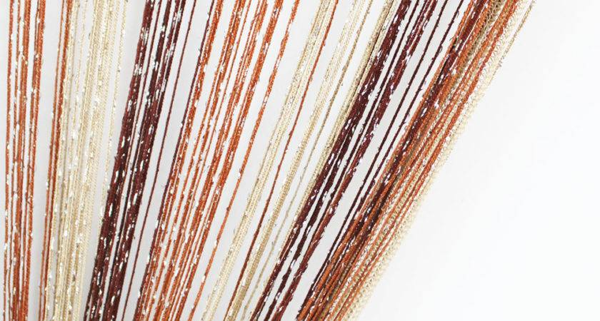 Colors Combination String Curtain Tinsel Tassel