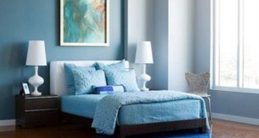 Colour Combination Bedroom Blue Kids Art