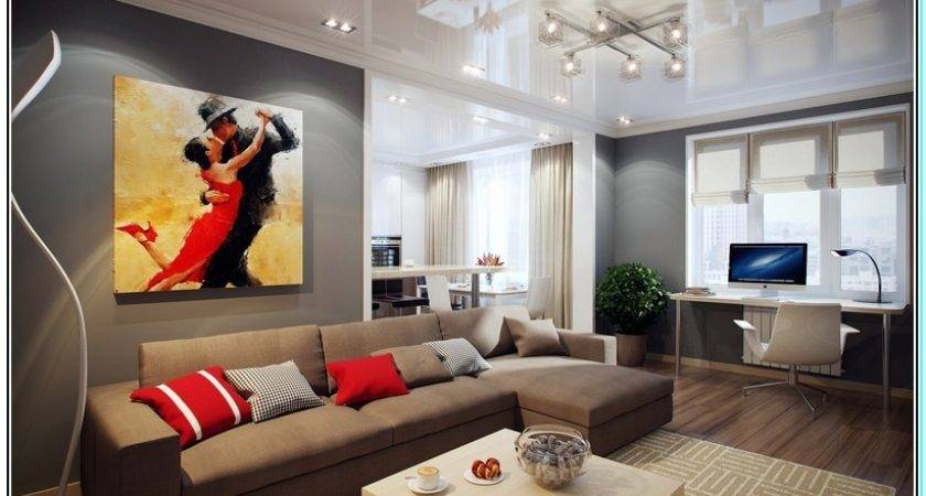 Colour Furniture Goes Grey Walls Wall Decal