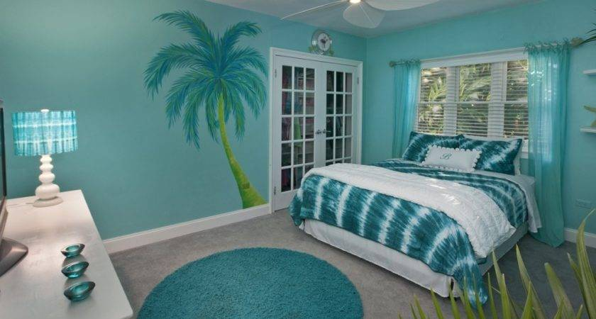 Come Relax Together Beach Coral Bedroom Atzine