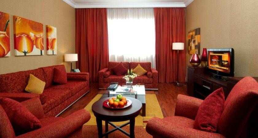 Awesome Red Lounge Decorating Ideas 25 Pictures Homes Decor