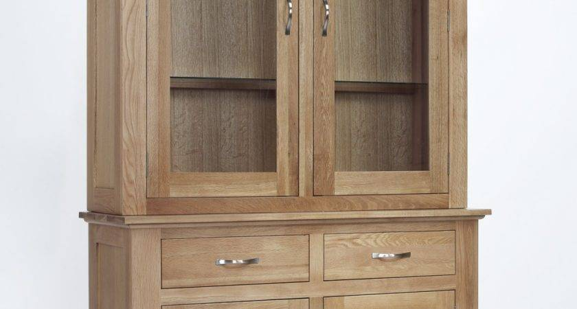 Compton Solid Oak Furniture Dining Room Dresser Display