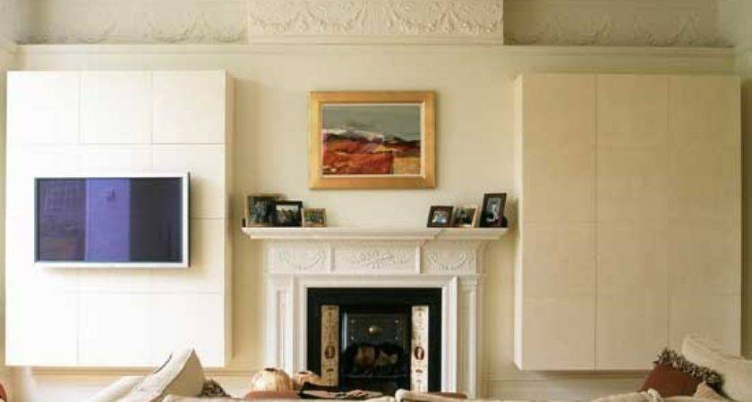 Concealed Alcove Storage Modern Ideas